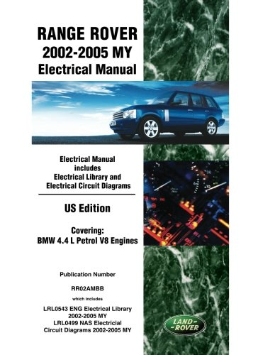 Range Rover 2002-2005 My Electrical Manual Us Edition: Ltd, Brooklands Books