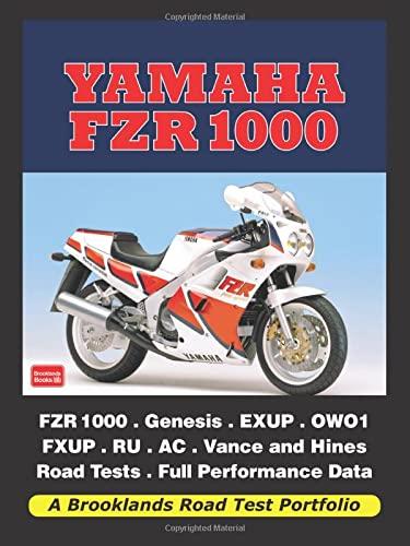 Yamaha FZR 1000 (Road Test Portfolio): Clarke, R.M.