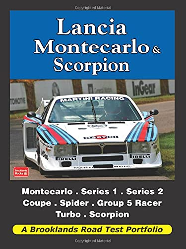 Lancia Montecarlo & Scorpion (Road Test Portfolio): Clarke, R. M.