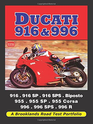 9781855209275: Ducati 916 & 996: A Brooklands Road Test Portfolio