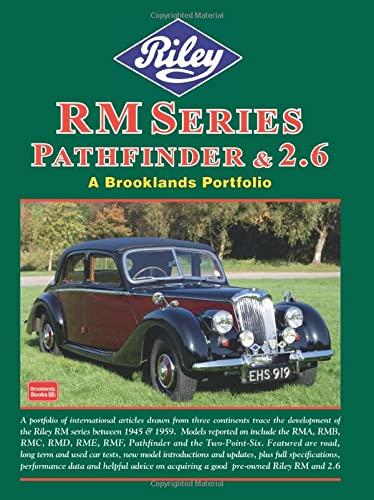 Riley RM Series Pathfinder & 2.6 (A Brooklands Portfolio): Brooklands Books Ltd