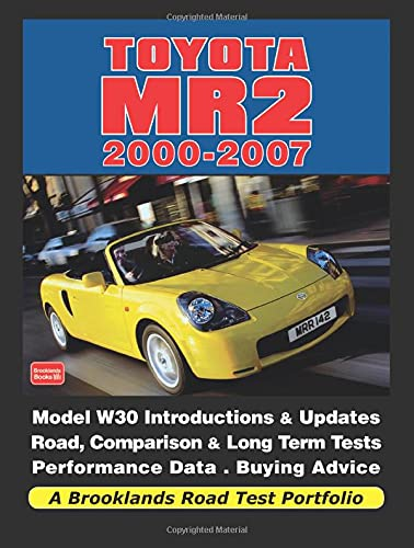 9781855209411: Toyota MR2 2000-2007 (Road Test Portfolio)