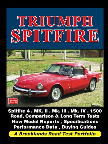 9781855209534: Triumph Spitfire Road Test Portfolio