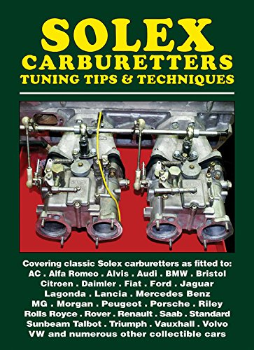 Solex Carburetters Tuning Tips & Techniques: Pack, RC