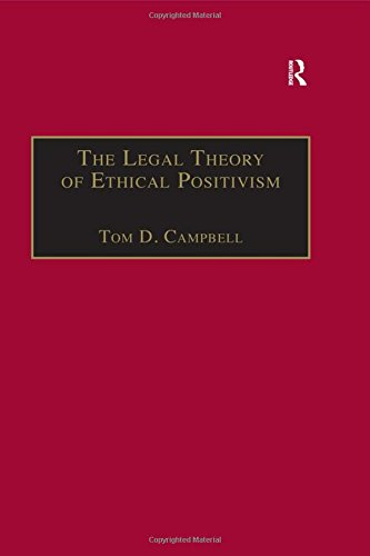 9781855211711: The Legal Theory of Ethical Positivism (Applied Legal Philosophy)