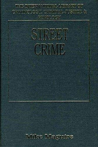 9781855214163: Street Crime (International Library of Criminology, Criminal Justice & Penology)