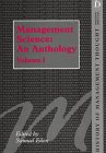 Management Science Anthology (History of Management Thought): Ed.) Eilon, S.