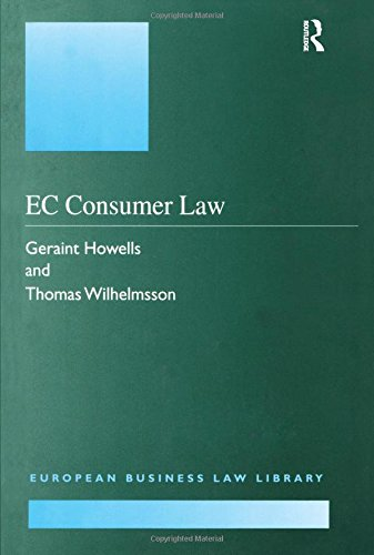 9781855216020: EC Consumer Law (European Business Law Library)