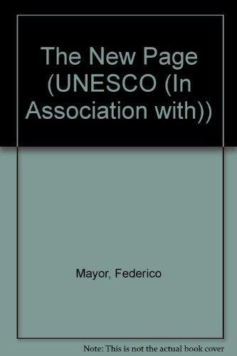 9781855216525: The New Page (UNESCO (in Association With))