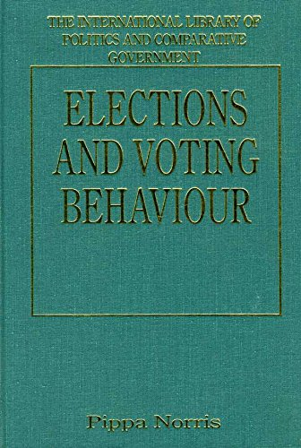 9781855218024: Elections and Voting Behaviour: New Challenges, New Perspectives (International Library of Politics and Comparative Government)