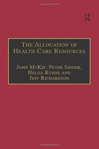 9781855219533: The Allocation of Health Care Resources: An Ethical Evaluation of the 'QALY' Approach (Medico-Legal Series)