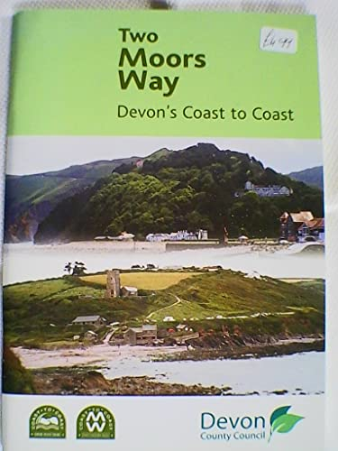 9781855229662: Two Moors Way - Devon Coast to Coast