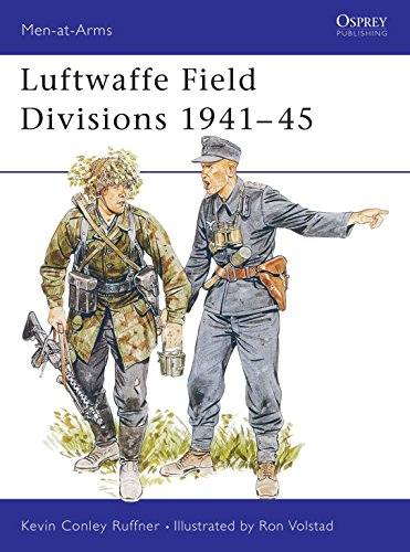 9781855321007: Luftwaffe Field Divisions 1941-45 (Men-at-Arms)