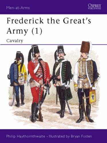 9781855321342: Frederick the Great's Army: Cavalry No.1 (Men-at-arms)