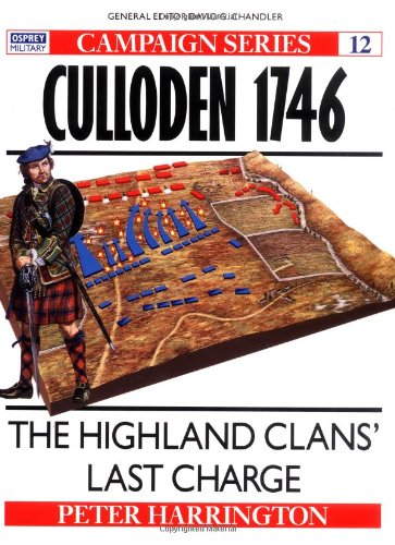 9781855321588: Culloden 1746: The Highland Clans' Last Charge (Campaign)