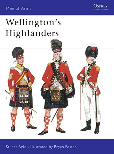 9781855322561: Wellington's Highlanders (Men-at-Arms)