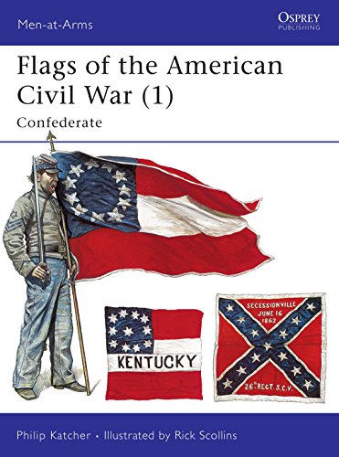 9781855322707: Flags of the American Civil War 1: Confederate (Men-At-Arms)