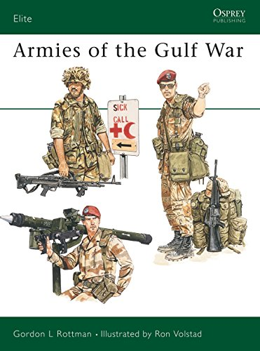 9781855322776: Armies of the Gulf War (Elite)