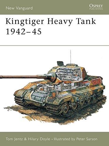 9781855322820: Kingtiger Heavy Tank 1942-45: 01 (New Vanguard)