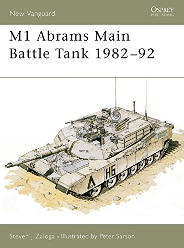 9781855322837: M1 Abrams Main Battle Tank 1982–92 (New Vanguard)