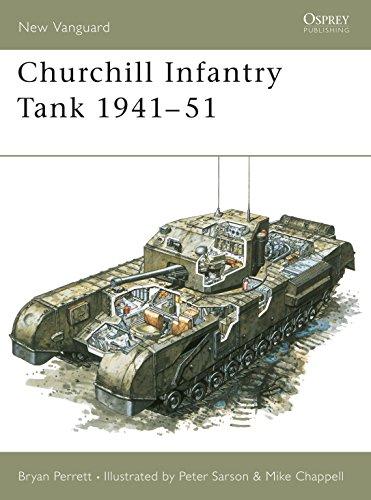Churchill Infantry Tank (Paperback): Bryan Perrett, M.