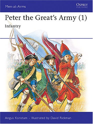 9781855323155: 001: Peter the Great's Army (1): Infantry (Men-at-Arms)