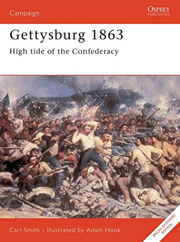 9781855323360: Gettysburg 1863: High tide of the Confederacy (Campaign)