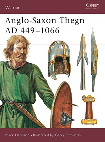 9781855323490: Anglo-Saxon Thegn AD 449–1066 (Warrior)