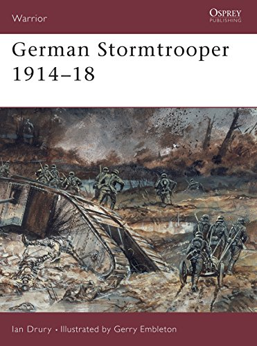 9781855323728: German Stormtrooper 1914–18 (Warrior)