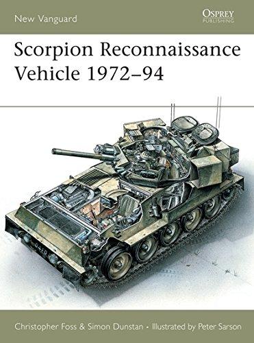 9781855323902: Scorpion Reconnaissance Vehicle 1972-94 (New Vanguard)