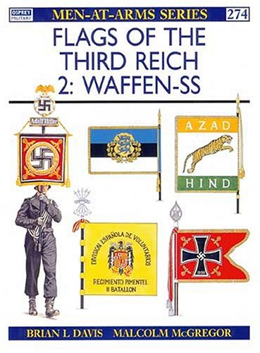 9781855324312: Flags of the Third Reich : Waffen-SS (Men-At-Arms Series, 274)