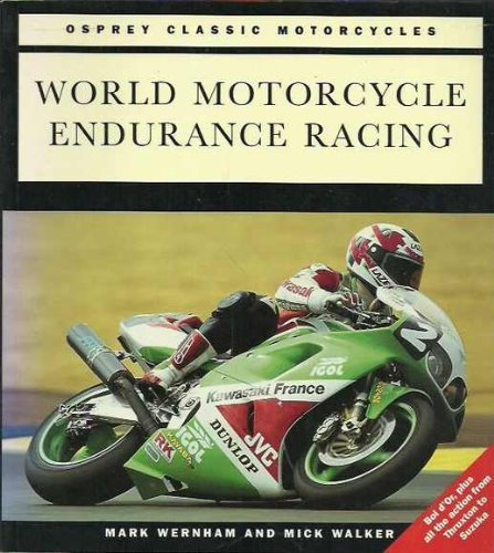 World Motorcycle Endurance Racing: Mark Wernham