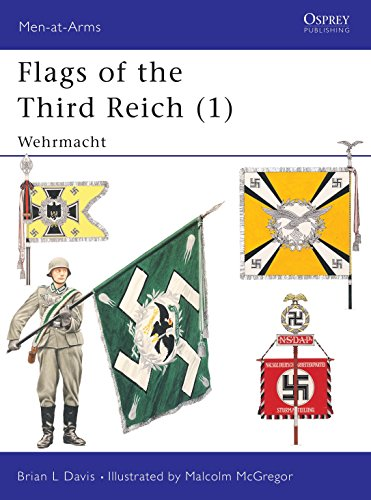 9781855324466: 001: Flags of the Third Reich (1): Wehrmacht (Men-at-Arms)