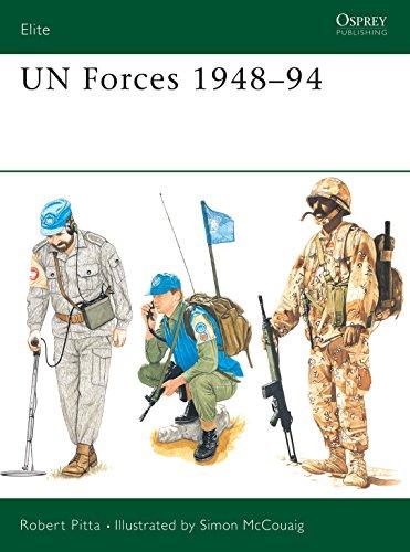 UN Forces 1948-94, Osprey Elite 54: Pitta, Robert