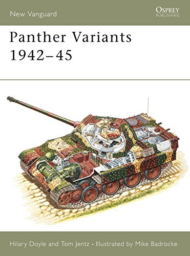 Panther Variants 1942-1945: Doyle, Hilary;Jentz, Tom;Osprey