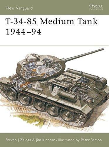 9781855325357: T-34-85 Medium Tank 1944-94 (New Vanguard)