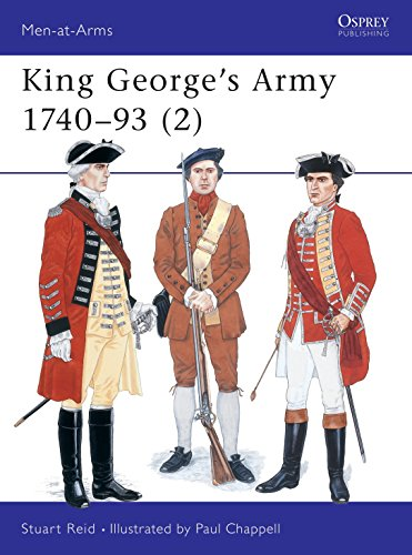9781855325647: King George's Army 1740–93 (2) (Men-at-Arms)