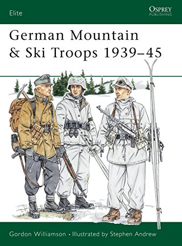 9781855325722: German Mountain & Ski Troops, 1939-45 (Elite)