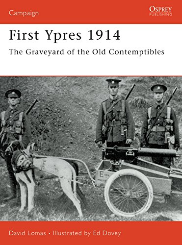 First Ypres, 1914 (Osprey Military Campaign): Lomas, David