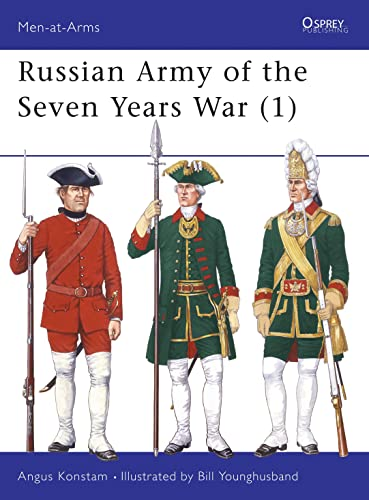 9781855325852: Russian Army of the Seven Years War (1) (Men at Arms Series, 297)