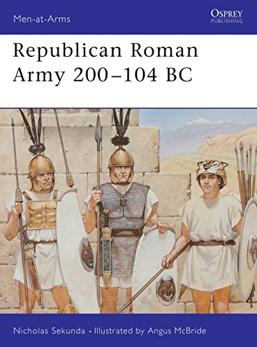 9781855325982: Republican Roman Army 200–104 BC (Men-at-Arms)