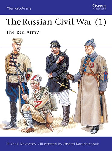 9781855326088: The Russian Civil War (1): The Red Army: The Red Army Vol 1 (Men-at-Arms)