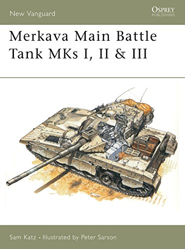 9781855326439: Merkava Main Battle Tank MKs I, II & III (New Vanguard)