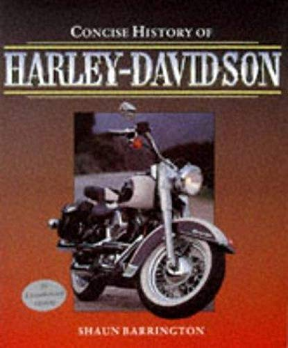 9781855326699: Concise History of Harley-Davidson (Osprey automotive series)