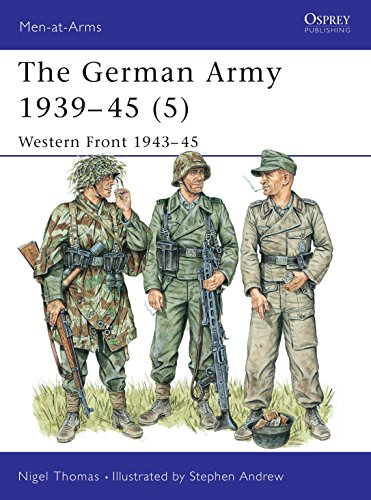 9781855327979: The German Army 1939-45 (5) : Western Front 1943-45 (Men-At-Arms Series, 336)