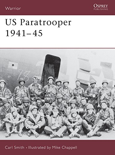 9781855328426: US Paratrooper 1941–45 (Warrior)
