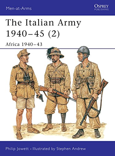 The Italian Army 1940-45 (2): Africa 1940-43: Jowett, Philip