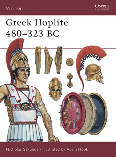 9781855328679: Greek Hoplite, 480-323 BC: Weapons, Armour, Tactics (Warrior)