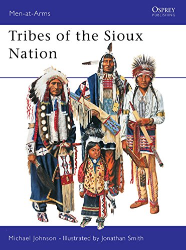 9781855328785: Tribes of the Sioux Nation (Men-At-Arms Series, 344)