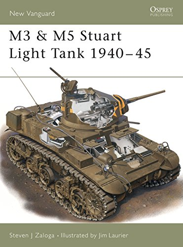 M3 and M5 Stuart Light Tanks, 1941-45: Steven Zaloga